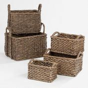 Espresso Carrie Basket Collection
