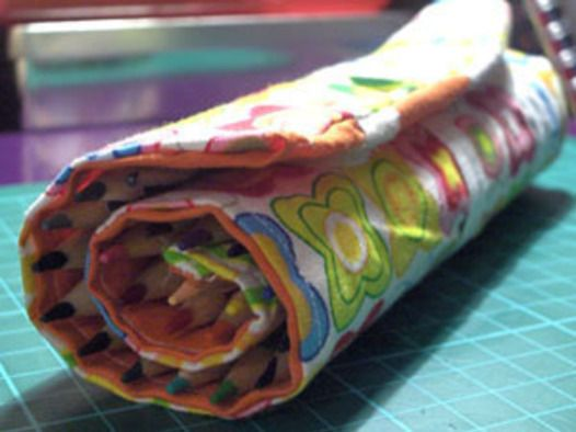 Pencil Case Roll Up