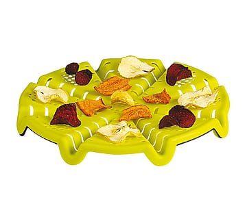 Soporte de silicona para cocinar patatas fritas en el microondas
