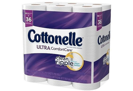 36 Rolls Cottonelle Ultra Comfort Toilet Paper  Free $5 Target GC & Free Shipping $13.98 AR (target.com)