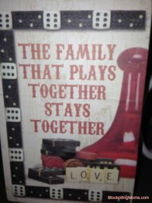 Do You Have A Family Game Night? http://www.stockpilingmoms.com/2013/05/do-you-have-a-family-game-night/