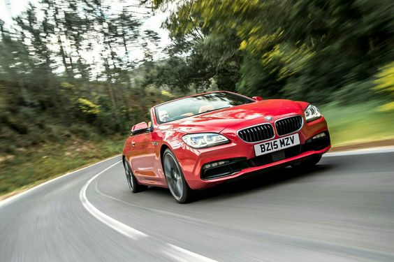 BMW 650i coupe convertable