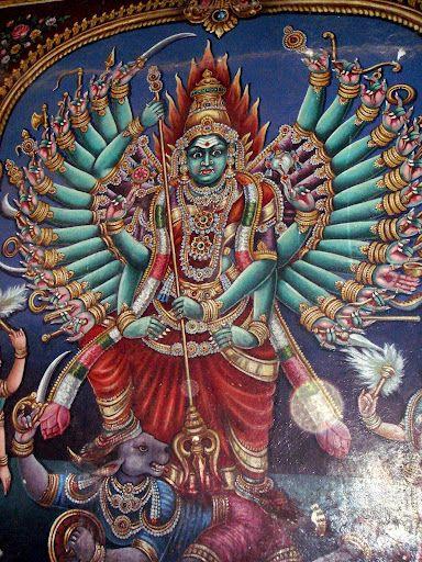 Hindi goddess Akhilandeshvari