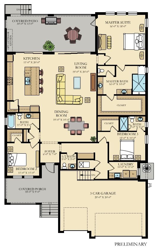 Captiva New Home Plan In Southshore Yacht Club Melrose Cove By Lennar In 2020 New House Plans House Map House Flooring Yacht house floor plan