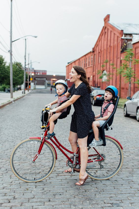 Biking With Kids On Back Good Ideas And My Family