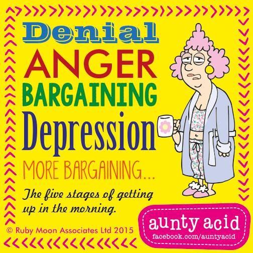 #AuntyAcid denial