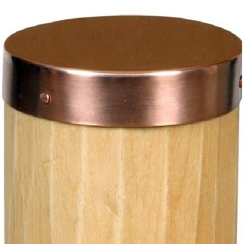 Sedona Round Natural Copper Post Cap With Images Post Cap