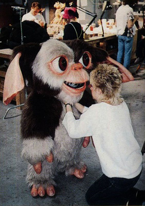Gizmo Prototype Actor Costume. I'm trying not to have a panic attack while looking at this