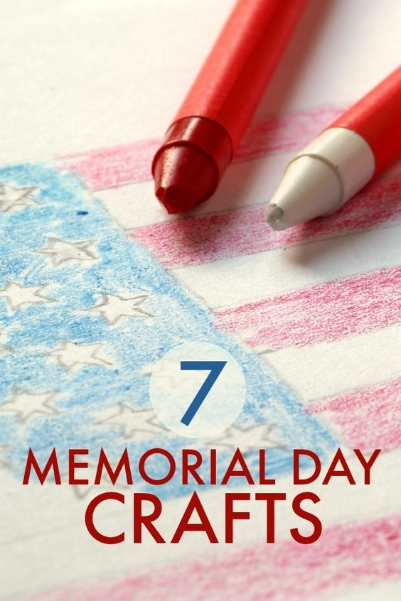 memorial day crafts for sunday school