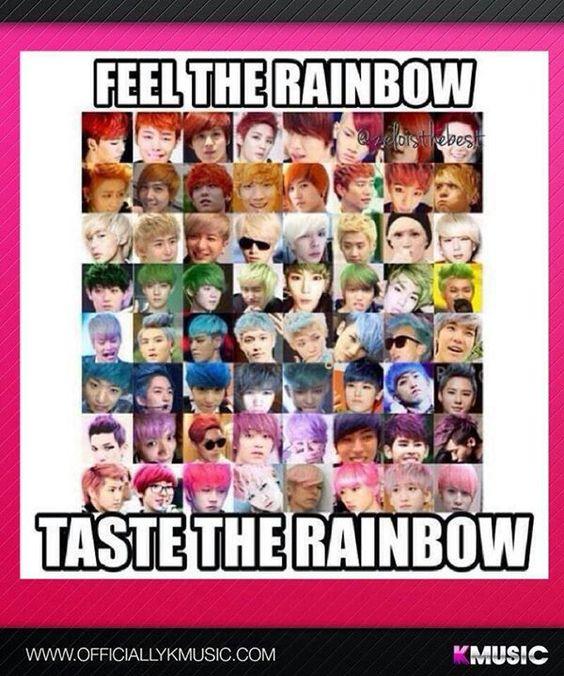 Kpop Rainbow ヾ(*⌒ヮ⌒*)ゞ <3