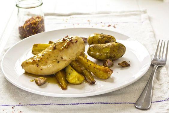 Sweet Maple-Glazed Chicken