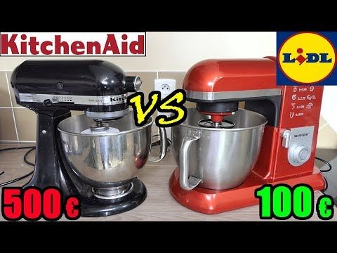 Lidl Vs Kitchenaid Robot De Cuisine Patissier Silvercrest Artisan Youtube In 2020 Food Processor Recipes Kitchen Aid Kitchenaid Artisan