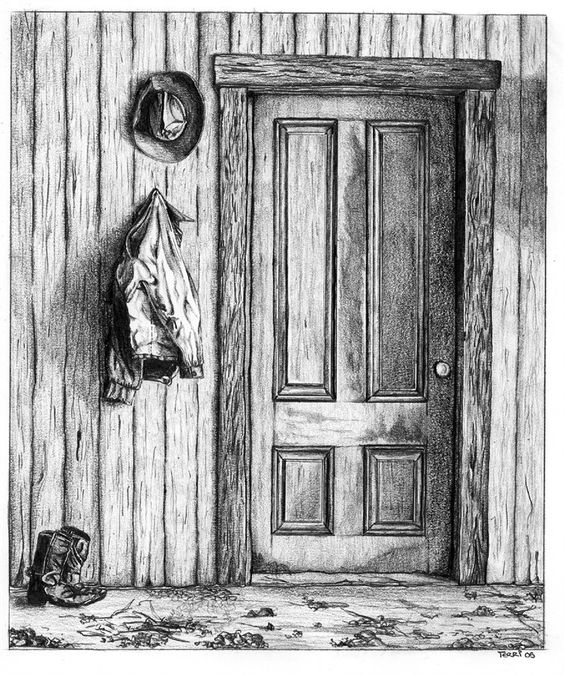 ... ©   Art and Illustration   Pinterest   Pencil, Drawings and Doors Pencil Drawing Pictures Of Flowers