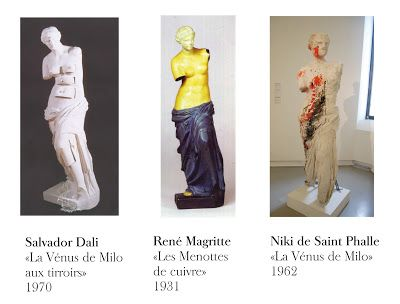 Arts plastiques Collège V: breves d'histoire de l'art