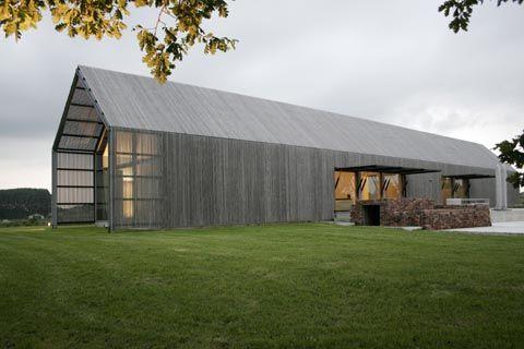 the barnhouse in belgium by buro2