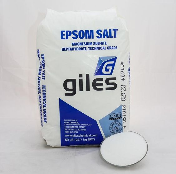 It ain't pretty, but a 50lb bag of epsom salt from your local farm store will keep you in hot soaks for months. Way cheaper than Dr. Teals, and you can add whatever essential oils you want.