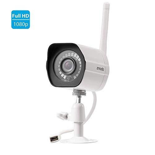 Zmodo Outdoor Security Camera 1080p Home Security Camera System Wireless Indoor Outd In 2020 Security Cameras For Home Home Security Camera Systems Wireless Security