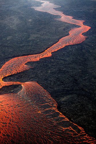 Holuhraun eruption | Flickr - (Tengo algo con la lava. Comprendo lo destructora y lo peligrosa que es pero no puedo evitar pensar que es preciosa)