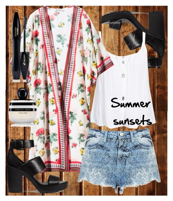 """""""Summer sunsets"""" by madaudrea on Polyvore"""