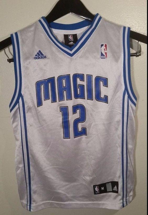 344ed4c37c57 ... official store dwight howard 12 magic jersey m men white blue adidas  youth medium nba men