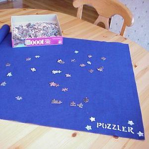 Make a puzzle mat