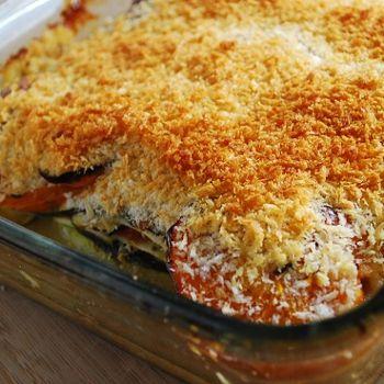 Baked Zucchini & Tomato Casserole, YUM!