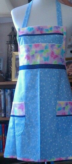 Mora. Summer apron.
