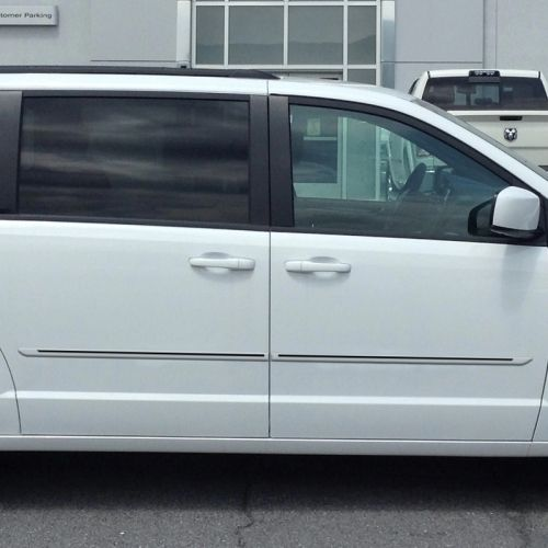 Dodge Grand Caravan Painted Moldings With A Color Insert 2018
