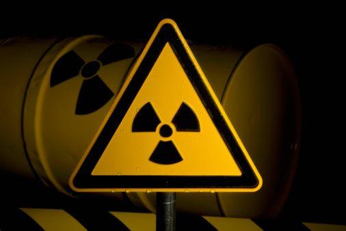 Radiologia - símbolo de radioatividade