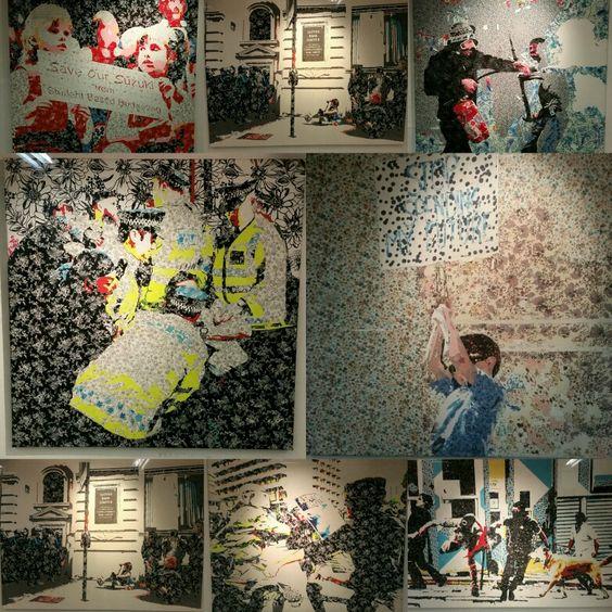 """Exposición """"Camuflaje Textil"""" #Zocalo #L2"""