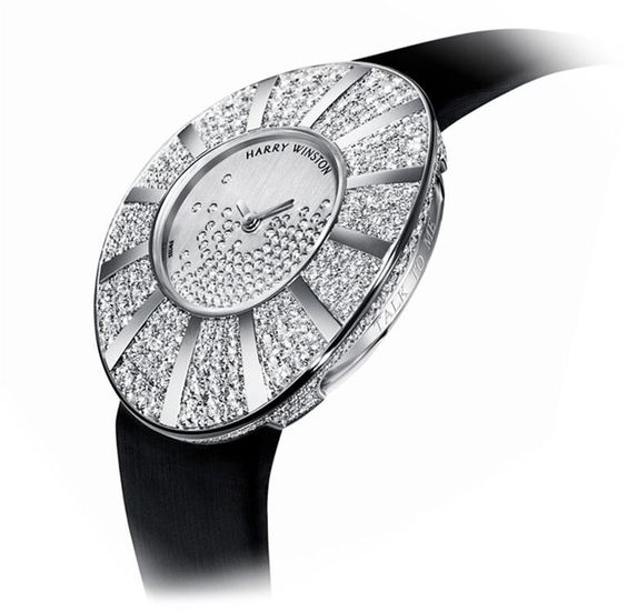 "Harry Winston ""Talk to Me: Snowflake dial' Timepiece...A girl can dream!"