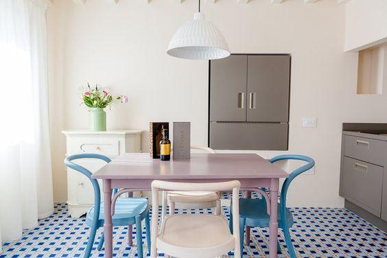 Casinha colorida: Viagem e design: Veneza em tons pastel
