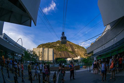Bondinho from Pao de Urca