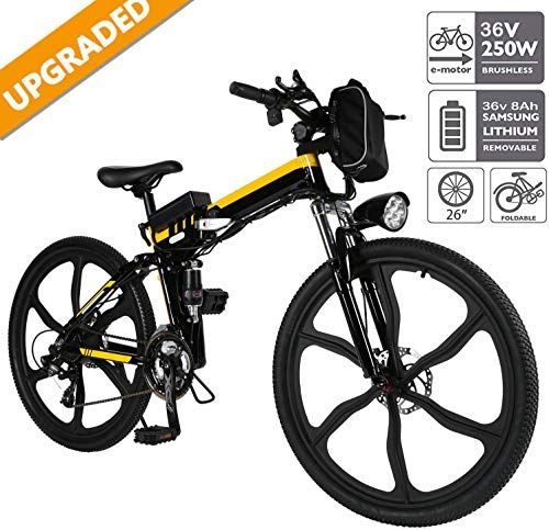 Amazing Offer On Emdaot 26 Power Plus Electric Mountain Bike 21