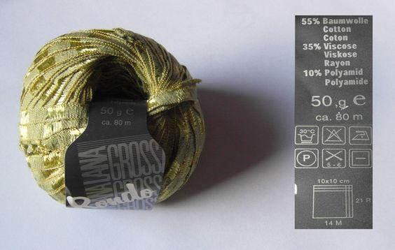Strickgarn - Rondo 35 von Lana Grossa zum Sonderpreis - ein Designerstück von sabenja bei DaWanda
