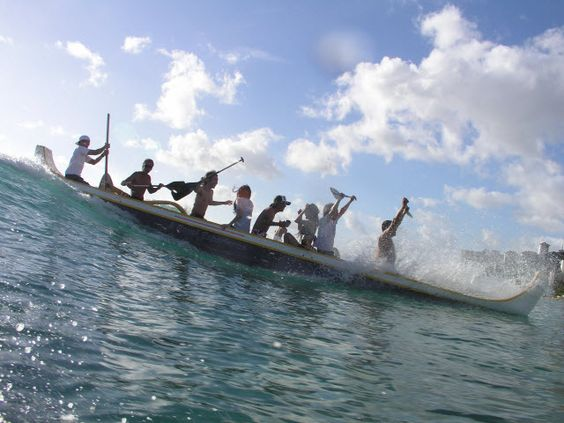 The outrigger canoes in Waikiki were so fun! http://www.waikikibeachservices.com/wp-content/uploads/outrigger-canoe-ride.jpg