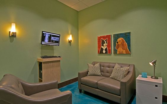 Pic On Comfort room Low profile puter Building a Vet Practice Exam rooms Pinterest Pet hotel Hospital design and Animal