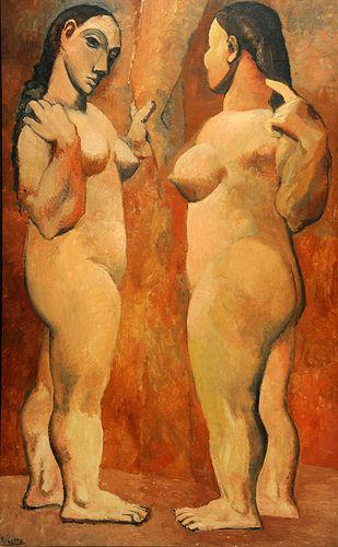 Pablo Picasso, Two Nudes (1906). (Debbie A)