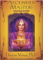 Ascended Masters Oracle card deck