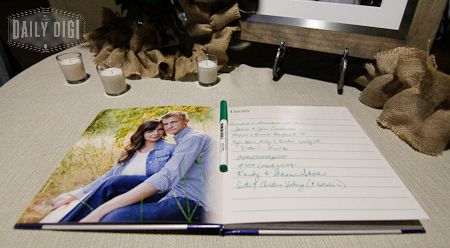 Affordable and Easy Custom Wedding Guest Book - DIY