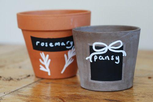 Tea For Joy: Painting pots