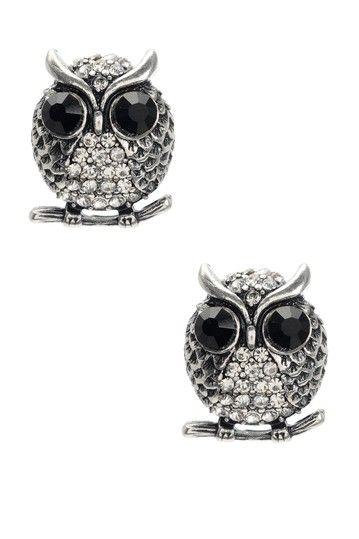 owl earings by Amrita Singh