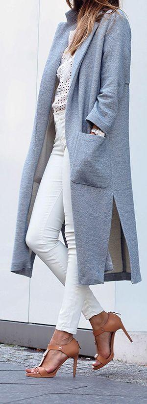 Coat: Zara   Top: Zara   Jeans: Zara   Heels: Hugo Boss