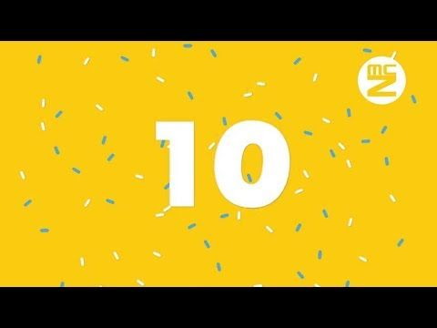 Free Countdown Number From 10 To 0 With Music Countdown 10 Things Numbers
