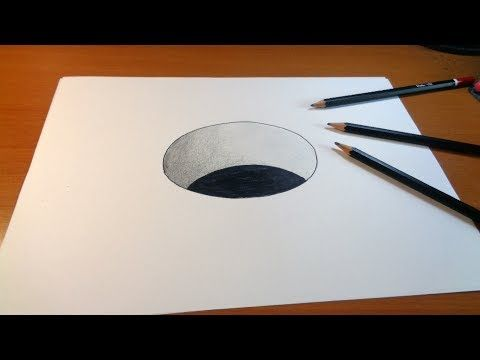 Very Easy 3d Trick Art How To Draw A Round Hole On Paper Youtube 3d Art Drawing 3d Drawings 3d Drawing Tutorial