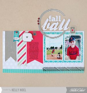 *fall ball by Kelly Noel at Studio Calico - Auskick