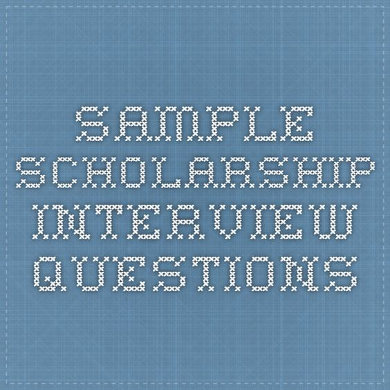 How should I write about my intentions towards using a scholarship?