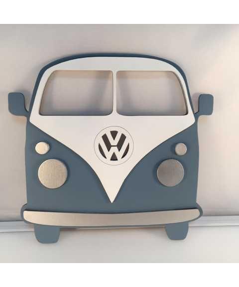 Volkswagen VW Campervan LOVE Standing Sign Decorative Camper Plaque