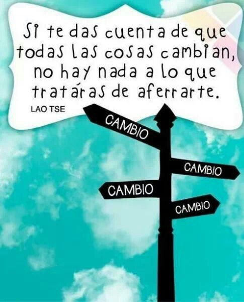 #Cambio