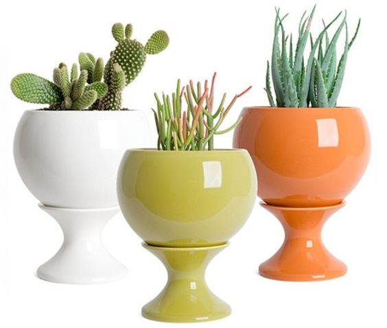 Modern Colorful Planters Collection